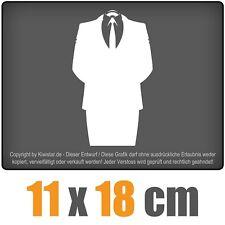Anonymous 11 x 18 cm JDM Sticker étiquette Course Die Cut