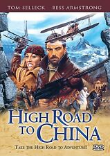 HIGH ROAD TO CHINA DVD - SINGLE DISC EDITION - NEW UNOPENED - TOM SELLECK