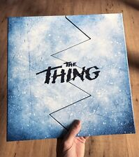 The Thing Deluxe Trapped In Ice Ed Waxwork Blue w/White Color Vinyl Variant COOL