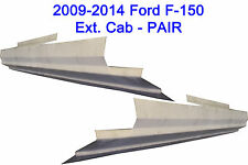 2009-2014 Ford F-150 4 Door Ext Cab Outer Rocker Panels 1 Pair