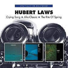 Hubert Laws Crying Song/Afro-Classic/The Rite Of Spring 2-CD NEW SEALED Jazz