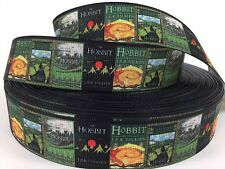 "BTY 7/8"" Hobbit Book Covers Grosgrain Ribbon Hair Bows Lisa"
