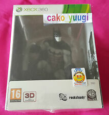 BATMAN ARKHAM CITY COLLECTOR NEUF SOUS BLISTER XBOX 360 FRANCAIS