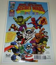 SECRET WARS # 4 Marvel Comic Minimates PX SAN DIEGO COMIC-CON VARIANT COVER