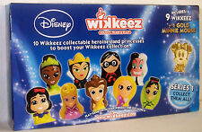 Boxed DISNEY WIKKEEZ HEROINES & PRINCESSES 10 Collectable + 1 Gold Minnie Mouse