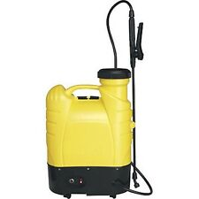 Industrial BACKPACK SPRAYER Type, 12V Electric - 4 Gallon Capacity - 30 Ft Spray