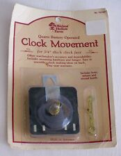 NEW Walnut Hollow Farm Quartz Battery Operated Clock Movement with Second Hand