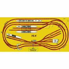 HORNBY Digital Train Set HL4 Big Layout Track for 8x4 Board - Train B