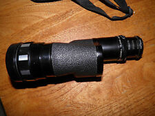 BUSHNELL TELEVAR MONOCULAR LENS Telephoto variable mount 325mm f/8 650mm 6 x 44