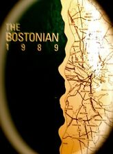 "1989 BOSTON UNIVERSITY YEARBOOK BOSTONIAN""~VERY  fine, used condition"