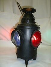 Vintage Dressel Railroad Switch Lantern Electrified Arlington, N.J.