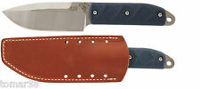 KA-BAR 5102 Mike Snody BIG BOSS Knife w/ Sheath, Pewter Bead, & Extra Handle Set
