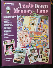 Fiskars HOTP A Snip Down Memory Lane Scrapbook Layout Idea Book