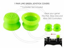 Green Thumb Stick Joystick Cover Convex for Xbox 360 PS3 PS4 Controllers Raised