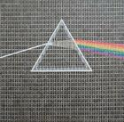 "SUPERB GARY HOGBEN ORIGINAL ""Dark Side of the Moon"" PINK FLOYD STAMP PAINTING"