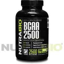 NutraBio BCAA -Branched Chain Amino Acid 150 V-Capsules
