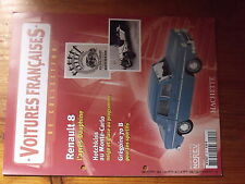 $$ Fascicule Voitures francaise N°35 Renault 8  Hotchkiss Monte-Carlo  Gregoire