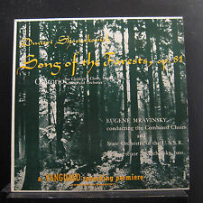 Mravinsky - Shostakovich Song Of The Forests LP VG+ VRS-422 Mono 1st Record