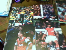arsenal premier league football pictures 1999 x 6 all A4s