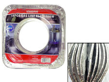 Pack of 10 Gas Liners Disposable Aluminium Stove Burner Covers Kitchen Essential