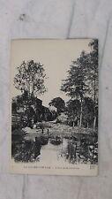CPA 85 LA ROCHE SUR YON L YON A LA LARDIERE ETANG ANIME CIRCA 1910 1920