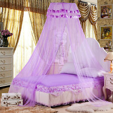 Lace Romantic Mosquito Nets Princess Protection Size Twin Full Queen Bed Canopy