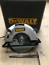 DeWALT DW62 240v Heavy Duty Circular Saw in kit box