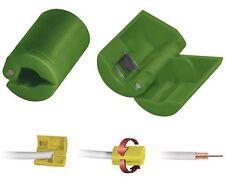 Aislante para cable coaxial 7,2-7,4-mm de antena conector-F Sat Herramienta TV
