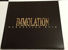 IMMOLATION Harnessing Ruin LP numbered 1st press 2004 morbid angel suffocation