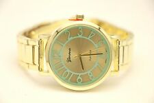 Saphire Watch, Glamorous D. Jewelry, Gold, Turquoise