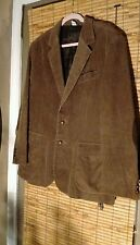 Mens Sz 46 browm cord jacket