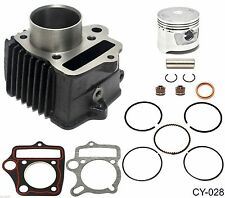 NEW 90cc 47mm Cylinder Kit for Chinese  ATV Dirt Bike Go Kart Mini Chopper bike