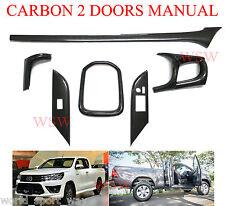 TOYOTA Hilux 15 16 REVO Carbon Grain Kevlar look Dash Board Trim 2 Doors Manual