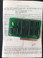 Apple II card Apple 2 parallel interface vintage rare Apple ii
