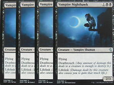 XXX 4x VAMPIRE NIGHTHAWK englisch zendikar vs. eldrazi (vampire flying) NM/MINT
