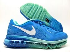 NIKE AIR MAX 2014 ID RUNNING NEW BLUE/WHITE SIZE WOMEN'S 5.5 WIDE [641426-992]