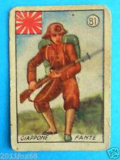 ss figurines cromos figurine v.a.v. vav la guerra nostra 81 giappone fante japan