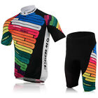 Cycling Colourful Jersey + short Quick Dry Breathable Clothing Bike Size M-XXL