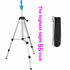 Cosmetology Mannequin Tripod for training head doll stand holder Carry Bag 55""