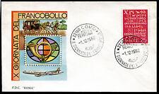 1968 - Giornata del Francobollo - n.1105  - Busta  FDC
