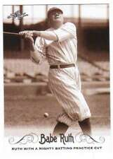 2016 Leaf Babe Ruth Collection #43 Babe Ruth