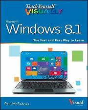 Teach Yourself VISUALLY (Tech): Windows 8.1 by Paul McFedries  (FREE 2DAY SHIP)