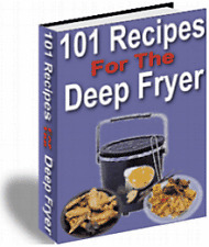 E BOOK - SIZZLING RECIPES FOR THE DEEP FRYER & BREAD MACHINE COOKBOOK ON CD