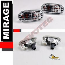 1997-2002 Mitsubishi Mirage Front Bumper Fender Side Marker Lights Lamps RH & LH