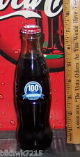 2011 GRAND HOME FURNISHINGS 100 YEARS 1911 2011 8 OUNCE GLASS COCA COLA  BOTTLE