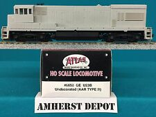 8650 Atlas HO GE U23B Undecorated Locomotive NIB