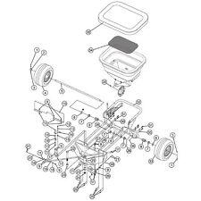 Drive wheel 1008816 assembly fits S100-12010 SPREADER UNIT SPYKER OEM