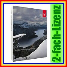 Adobe Photoshop Lightroom 6 Vollversion Win & Mac deutsch mit Zweitnutzungsrecht