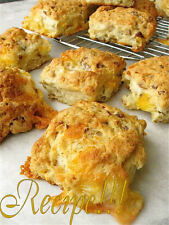 "☆The Original Sausage Cheese Biscuit ""RECIPE""☆Oozing w/ Cheese!!!☆Two Recipes!!☆"
