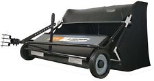 AllFitHD 42 in. 22 cu. ft. Lawn Sweeper Fast Easy Yard Cleanup More Efficient
